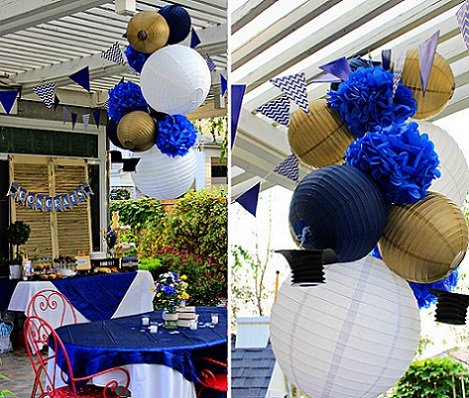 Decoracion con globos centro mesa graduacion videos and - Decoraciones jardines ...