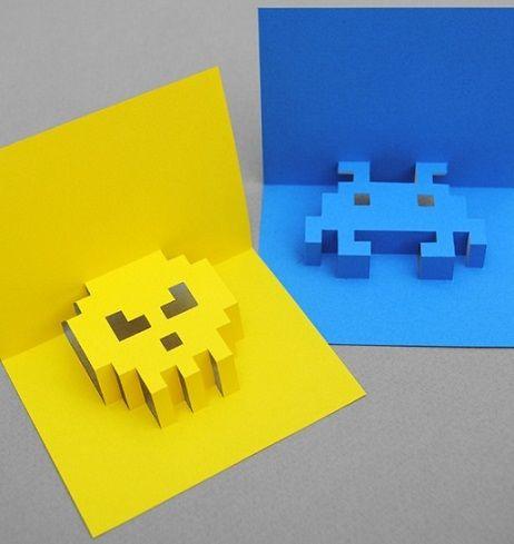 Como Hacer Tarjetas De Cumpleanos En 3 Dimensiones Ideas Para Fiestas - Ideas-para-tarjetas-de-cumpleaos