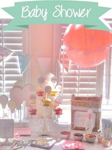 Baby Shower De Globos Para Niño Ideas Para Fiestas