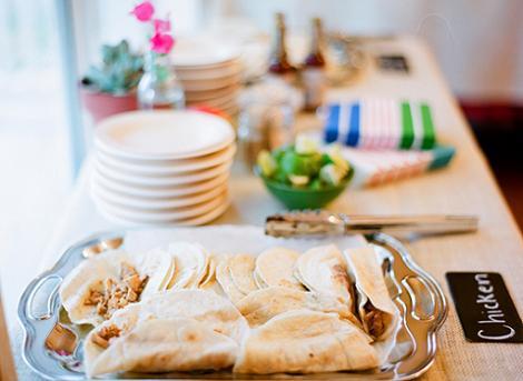 Comida fiesta mexicana