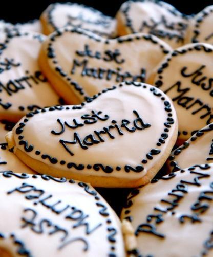 Cookies de boda