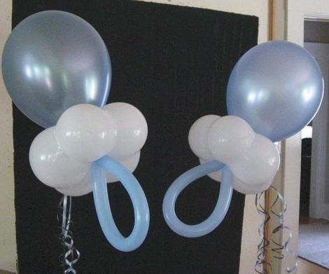 decorar con globos forma