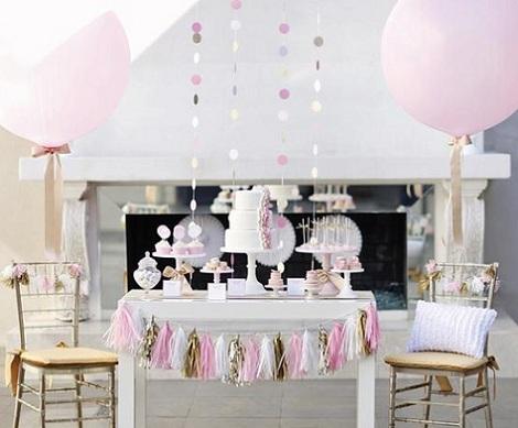 decorar con globos mesa