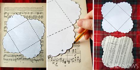 Hacer sobres de papel paso 2