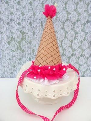 fiesta sombreros helado