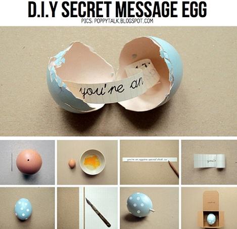 huevos de pascua mensaje