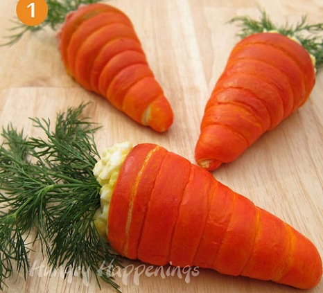 ideas fiesta pascua zanahorias