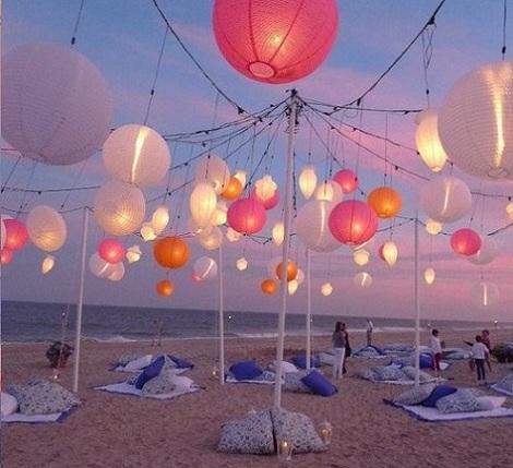 inspiracion fiesta playa