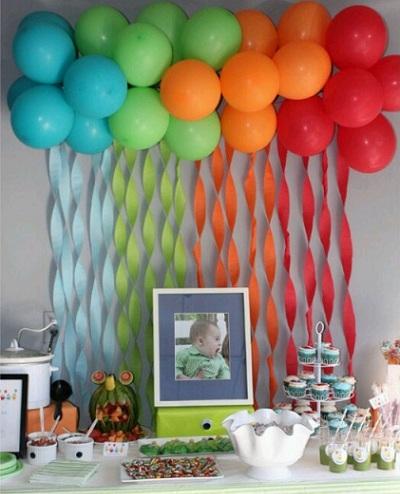 inspiracion globos pared