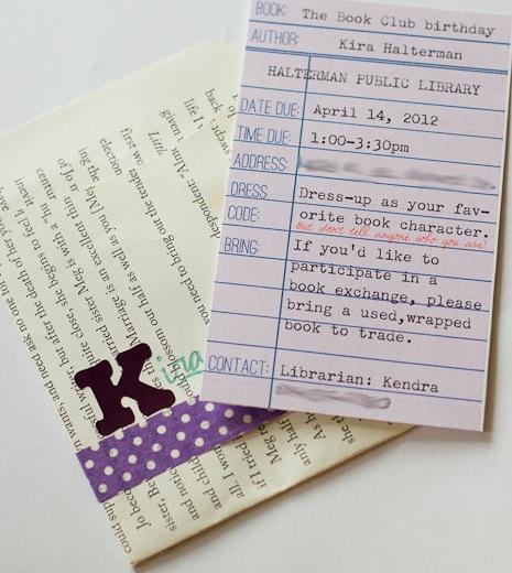 Invitación biblioteca