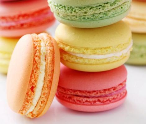 Macarons de colores