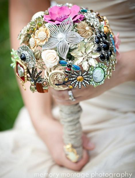 Ramo de novia sin flores
