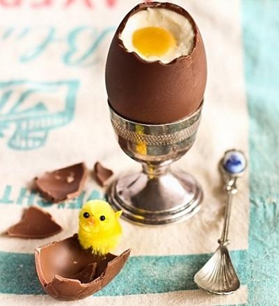 recetas pascua huevo chocolate