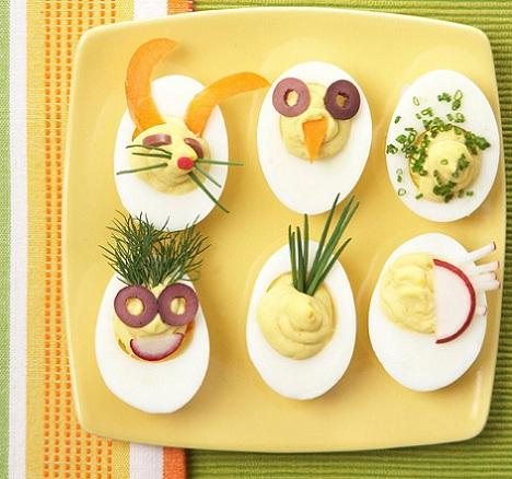 recetas pascua huevos