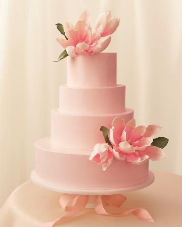 tartas boda originales rosa