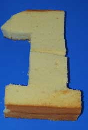 tartas formas numeros 1