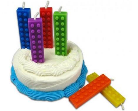 velas cumpleaños lego