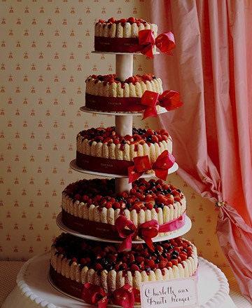 6 tartas boda frutas