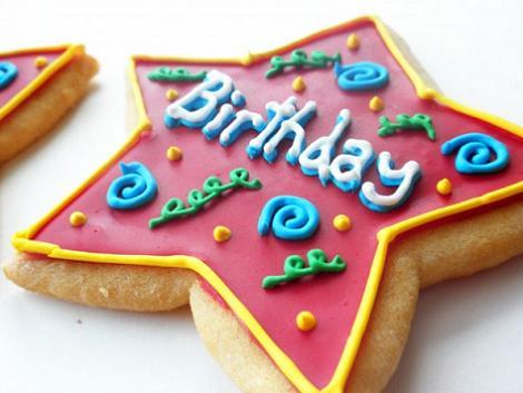 Cumpleaños: galletas