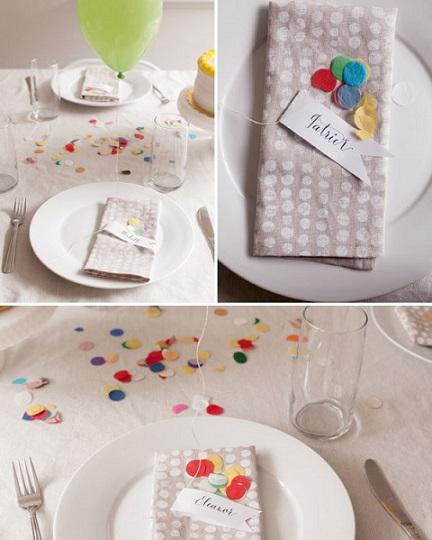 decoracion mesa globos detalle