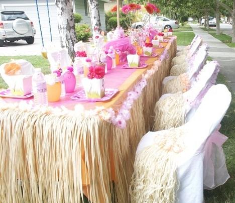 fiesta hawaiana mesa