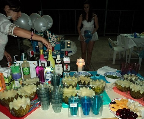 fiesta ibicenca mesa