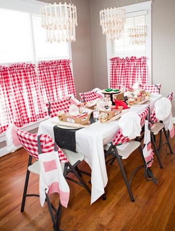 fifiesta italiana mesa invitados