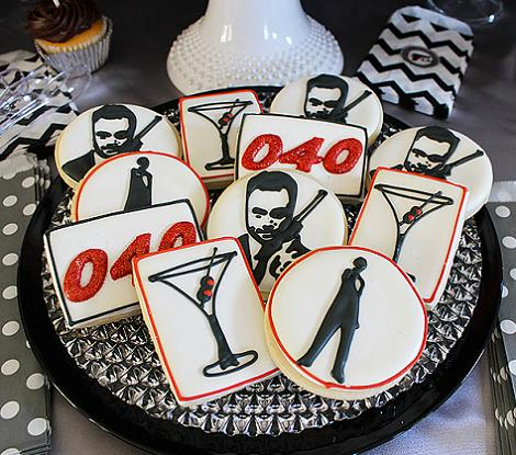 40 cumplea os james bond ideas para fiestas - Ideas para fiestas de 40 cumpleanos ...