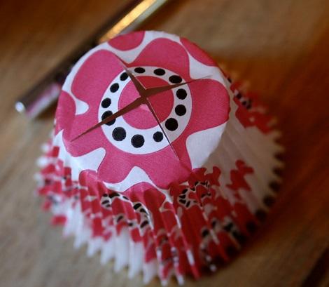 hacer farolillos cupcakes cortar