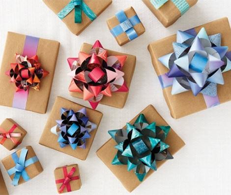 hacer lazos regalos