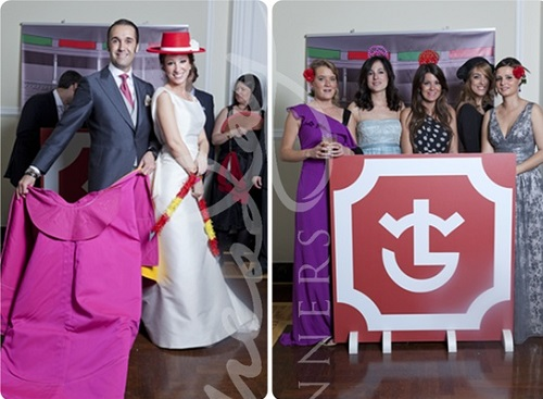 ideas photocall boda tematica