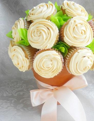manualidades dia de la madre cupcakes