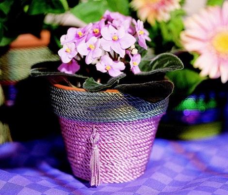 manualidades dia de la madre floreros