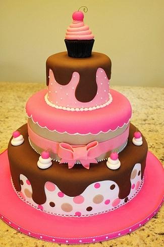 tartas cumpleanos cupcake