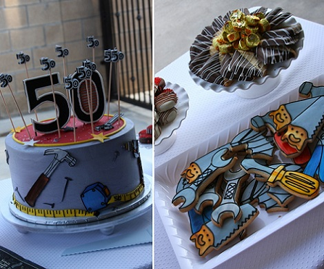 50 cumpleanos hombre tarta