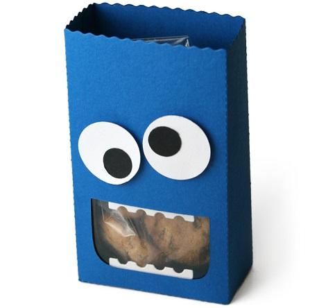 bolsitas cumpleanos montruo galletas