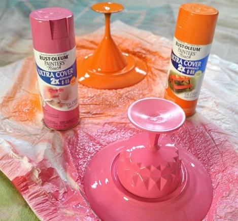 como hacer bandeja casera pintar