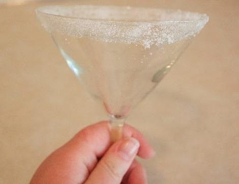 como hacer un lemon drop martini copa