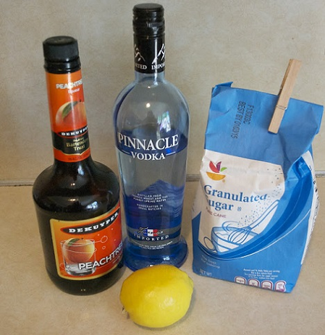 como hacer un lemon drop martini ingredientes