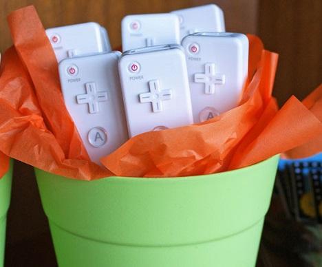 cumpleaños frikis videojuegos mario bros joy mandos