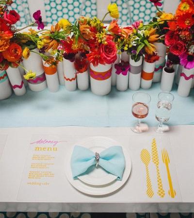 ideas boda en casa cubiertos