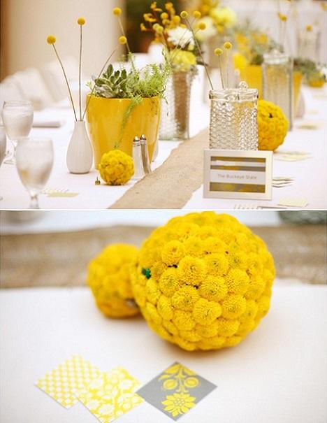 ideas diy bodas centros mesa