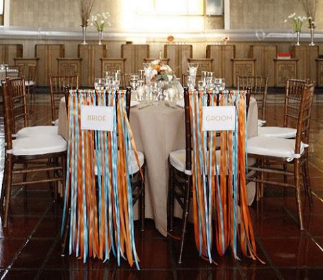 ideas diy bodas sillas