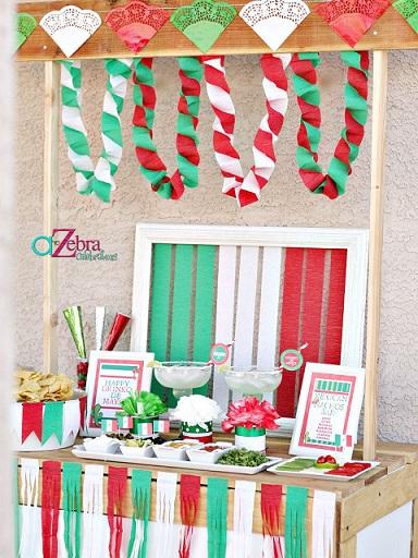 ideas fiesta mexicana casa stand