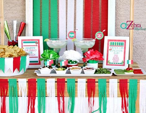 ideas fiesta mexicana casa