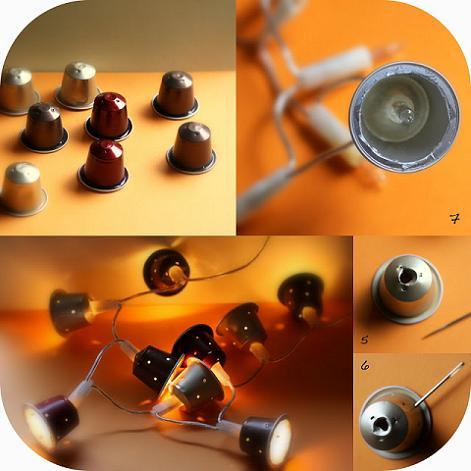 Manualidades cápsulas Nespresso
