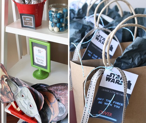 organizar fiesta star wars caretas