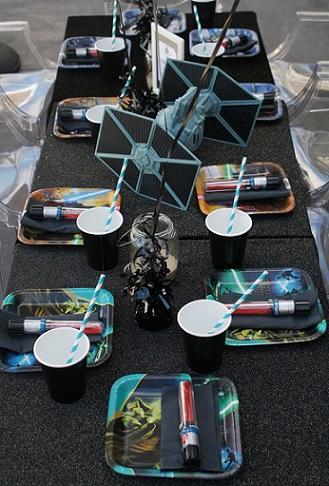organizar fiesta star wars mesa