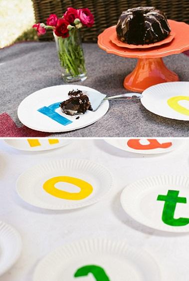 platos decorados cumpleanos resultado