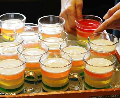 postre frio vasos gelatina enfriar
